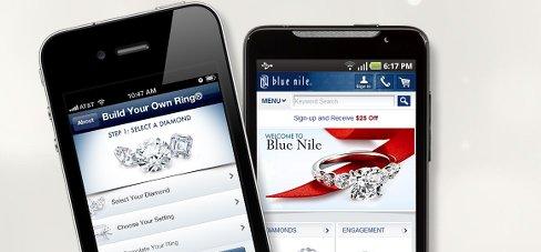 Blue Nile Mobile App