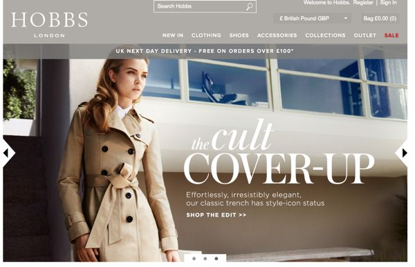 Why Do Online Fashion Brands Love Sliding Banners?
