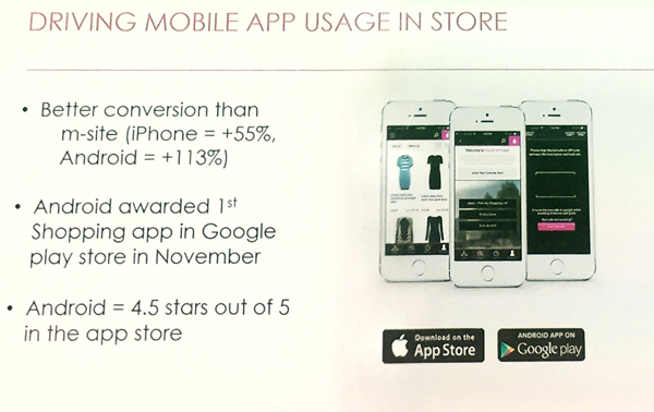 House of Fraser driving mobile app useage in store   Poq - the cloud platform for the next generation of app commerce