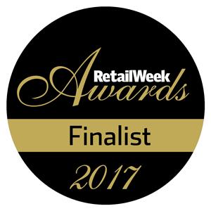 RetailWeek Awards finalist badge | Poq - the app commerce company