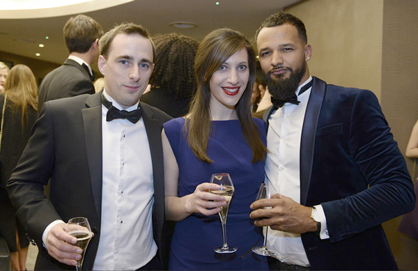 The Poq team at Drapers Awards 17 | Poq - the app commerce company