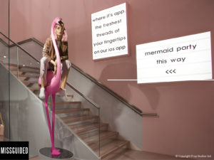 Missguided in-store iOS app   Poq - the app commerce company
