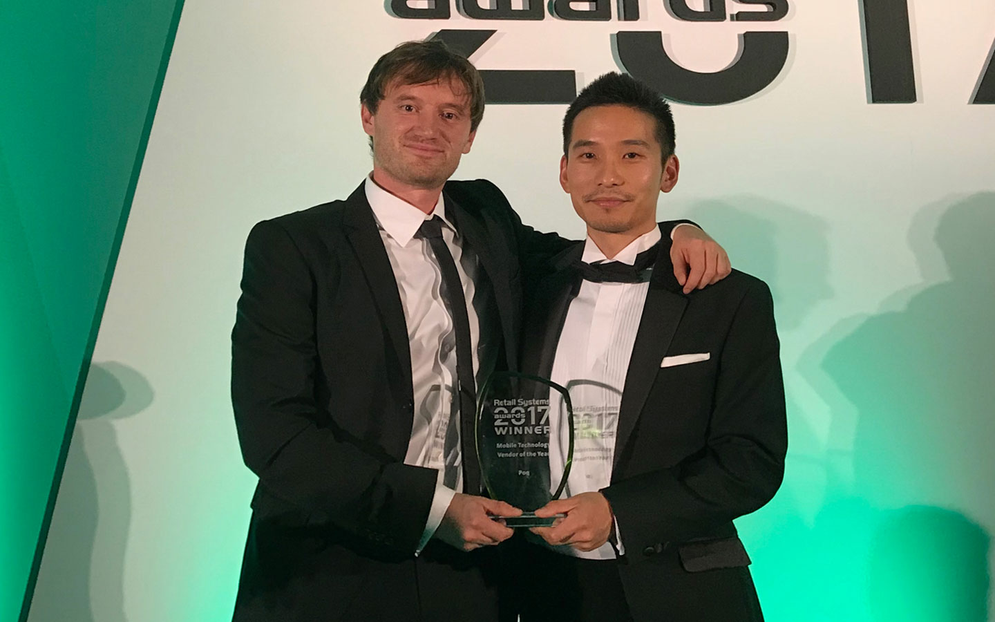Jun Seki & Michael Langguth win Mobile Technology Vendor of the Year | Poq - the app commerce company