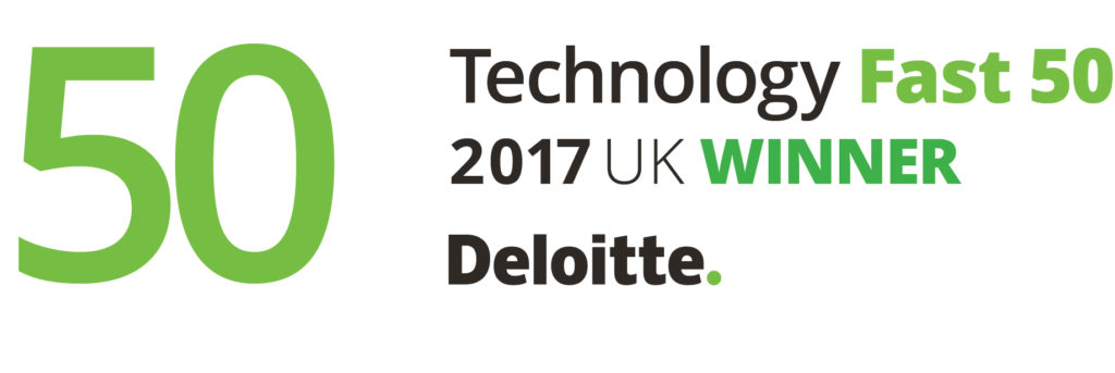 Deloitte Fast50 Winner UK logo