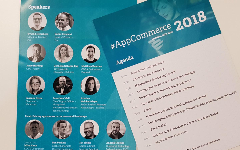 #AppCommerce 2018 blog header 2 | Poq - The app commerce company