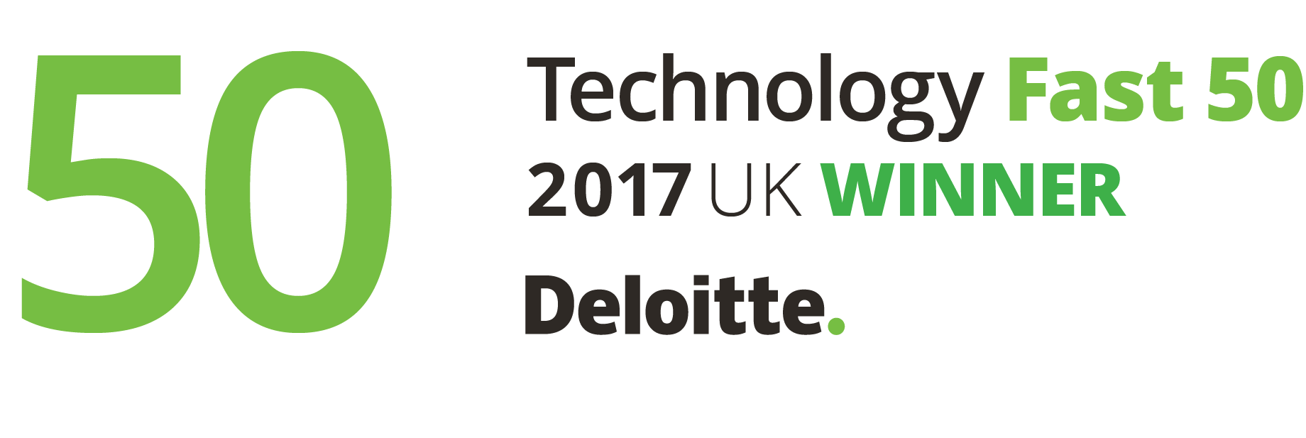 Deloitte Fast50 Winner UK PRI RGB_300dpi | Poq - The app commerce company