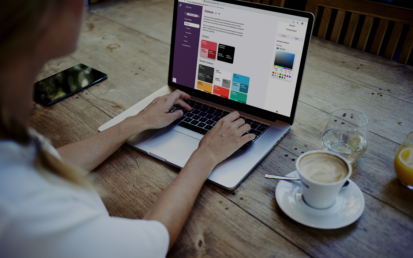design-systems-header V2   Poq - The app commerce company